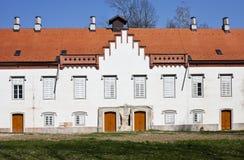 Kroatisk slott från det 16th århundradet Arkivbilder