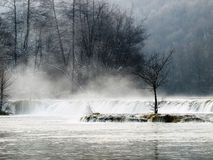 kroatisk vinter Arkivfoton