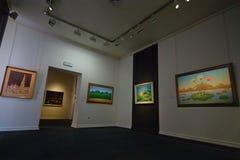 Kroatiska lättrogna Art Museum, Zagreb Arkivbilder