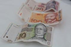 kroatiska pengar Royaltyfria Bilder