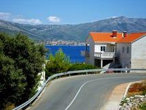 kroatiskt hus Royaltyfri Bild