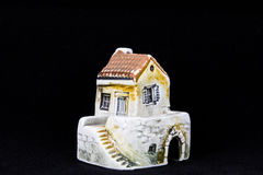 Kroatiskt hus, nationell arkitektur Royaltyfri Bild
