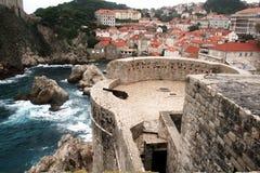 Kroatiskt slott Arkivbild