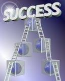 kroczy sukces Obrazy Stock