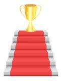 kroczy trofeum Fotografia Stock