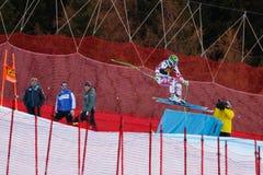 Kroell Klaus στο αλπικό Παγκόσμιο Κύπελλο σκι Audi FIS - Ρ των ατόμων προς τα κάτω Στοκ Εικόνες