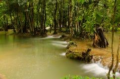 Kroeng Krawia waterfall Royalty Free Stock Image