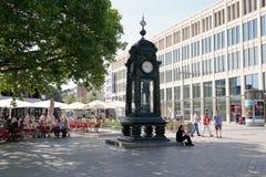 Kroepcke Uhr en Hannover Alemania Imagen de archivo