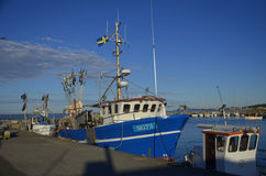 Krokås Harbour, Sweden Royalty Free Stock Photos