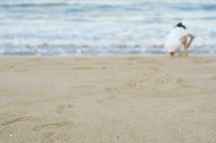 Kroków dzieci i Fotografia Royalty Free