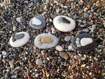Kroków kamienie zdjęcie royalty free