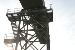 kroków konwejerów sunshine przemysłowe zdjęcia stock