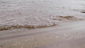 Krok drabina na brzeg rzeki zbiory