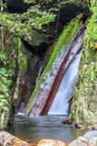 Krok E Dok Waterfall in Rainforest, Thailand Stock Photo