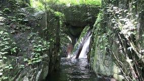 Krok I Dok waterfall stock video