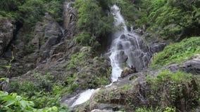 Krok I Dok waterfall stock footage