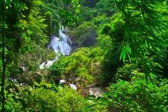 Krok Ja Dok siklawa, Tajlandia zdjęcie royalty free