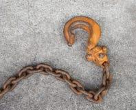 Krok och chain sammanlänkningar Royaltyfri Fotografi