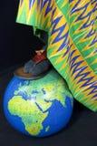 Krok W Afryka Zdjęcie Stock