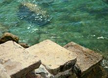 kroka kamień Zdjęcie Royalty Free