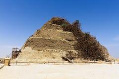 Kroka ostrosłup Djoser Zdjęcia Royalty Free