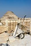 Kroka ostrosłup Djoser w Saqqara Fotografia Royalty Free
