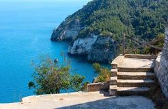 Kroka Torre dell ` Aglio, Gargano, Puglia, Włochy Zdjęcia Stock