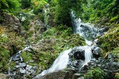 Krokedok waterfall in forest, Saraburi Thailand Royalty Free Stock Images