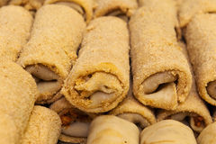 Kroketter i brödsmulor Arkivbilder