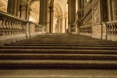 Kroki antyczny schody Obrazy Stock