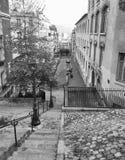 Kroki Montmartre, Paryż Zdjęcia Stock