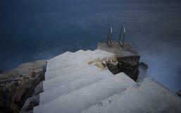 Kroki morze fotografia stock