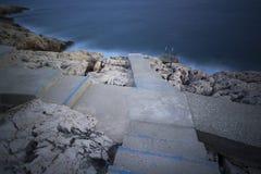 Kroki morze obraz royalty free