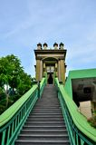 Kroki Muzułmańska tajemnicza świątynia Singapur Obrazy Royalty Free