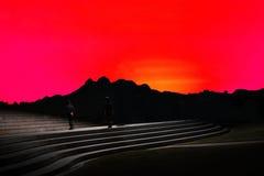 Kroki niebo Obrazy Stock