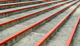 Kroki przy plenerowym stadium Obraz Stock