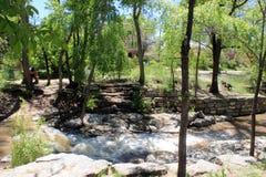 Kroki - puszek rzeka Obrazy Stock