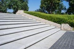 Kroki w kwadracie Obrazy Royalty Free