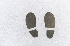 Kroki znak Fotografia Royalty Free