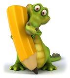 Krokodil royalty-vrije illustratie
