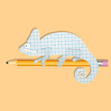 Krokodil vektor illustrationer