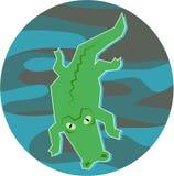 Krokodil lizenzfreie abbildung
