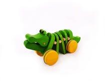 Krokodil-Spielzeug Lizenzfreies Stockbild