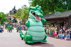 Krokodil von Peter Pan Lizenzfreies Stockbild