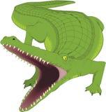 Krokodille vectorillustratie vector illustratie