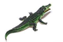 Krokodilspielzeug Stockfotografie