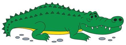 Krokodilvektor Royaltyfri Bild