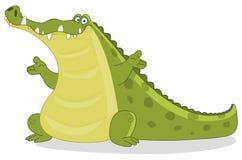 krokodyl royalty ilustracja