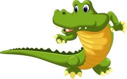 Krokodyl kreskówka royalty ilustracja