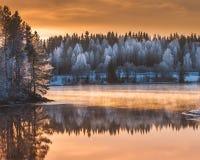 Krokom Jamtland Σουηδία Στοκ φωτογραφία με δικαίωμα ελεύθερης χρήσης